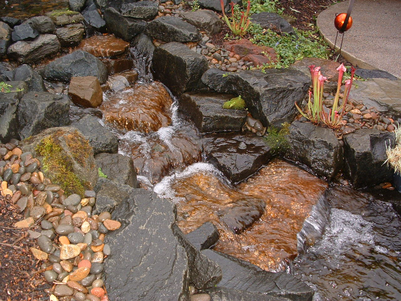 Artistic Water Feature